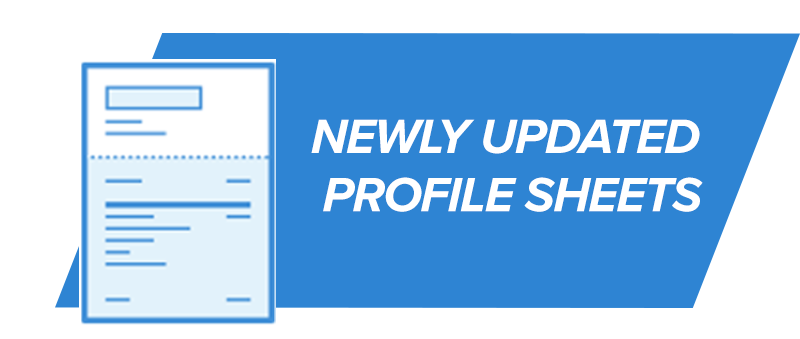 Profile Sheets (Newly Updated)